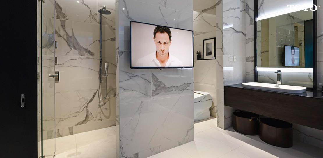 วิธีการออกแบบห้องน้ำให้สวยดังใจนึก 7