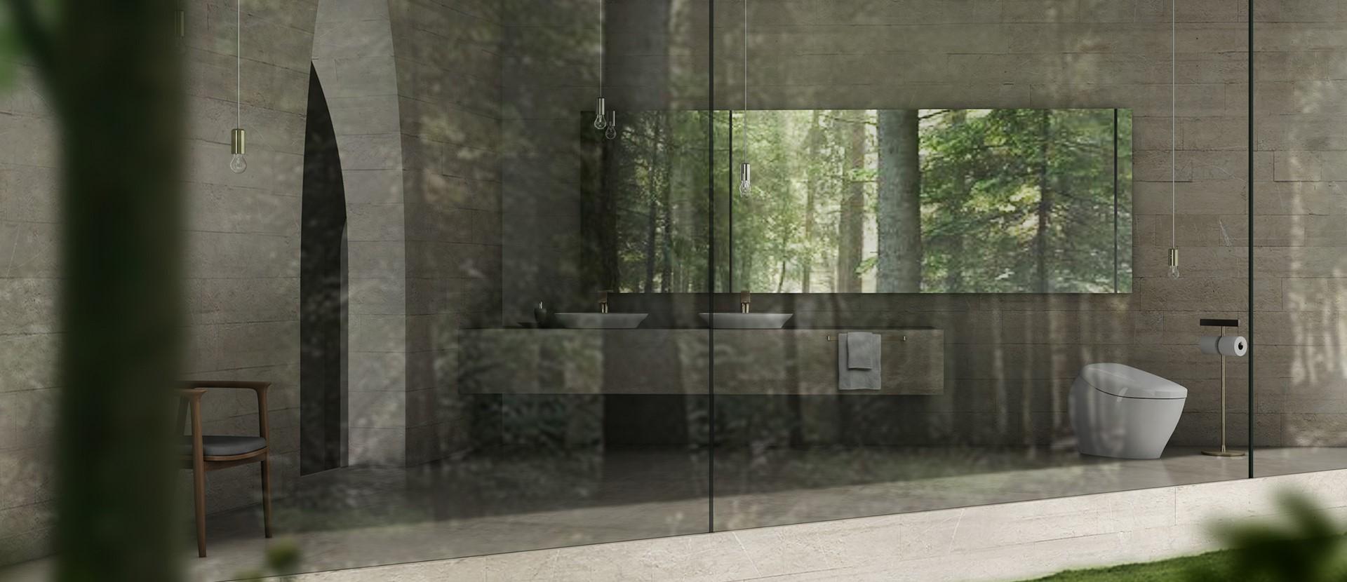 แบบห้องน้ำสไตล์โมเดิร์น : เรียบง่ายและสงบแบบเซน 1