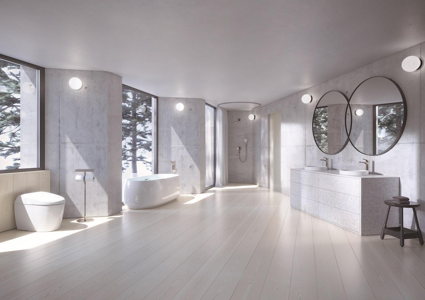 แบบห้องน้ำสไตล์โมเดิร์น : เรียบง่ายและสงบแบบเซน 2