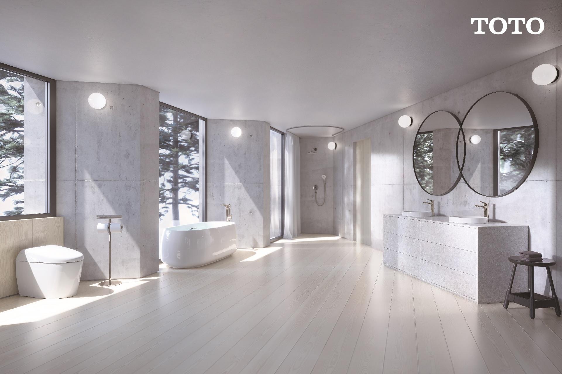 แต่งห้องน้ำเพื่อรับแสงจากธรรมชาติ