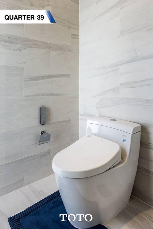 ห้องน้ำจาก โครงการ THE QUARTER 39 (ควอเตอร์ 39)