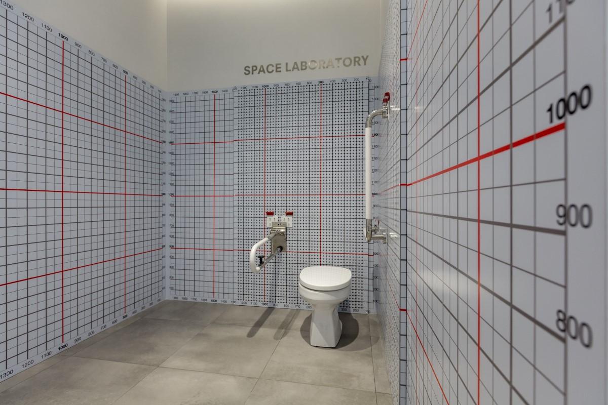 สำรวจพื้นที่ห้องน้ำ