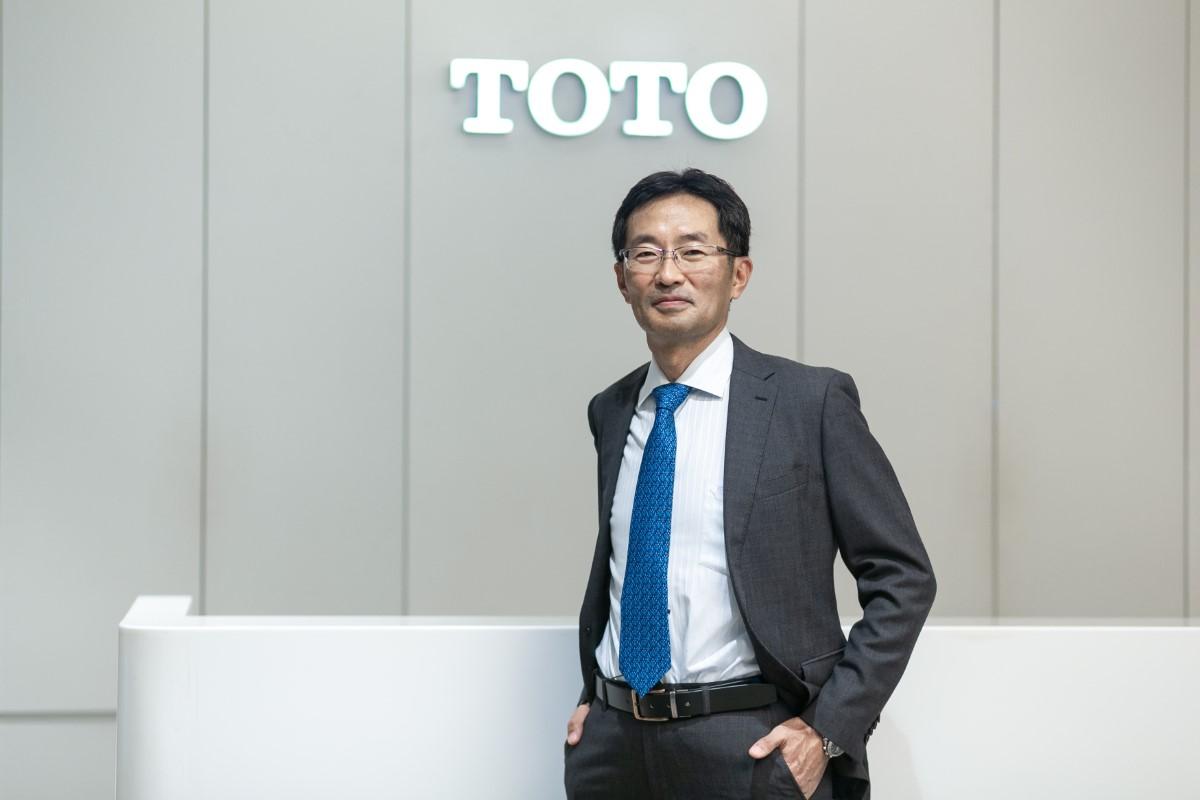 Takayasu Shimada (TOTO President) 2020