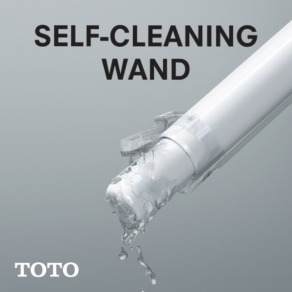 CLEANLINESS - SELF CLEANING WAND