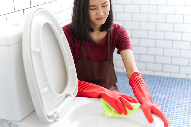 """การทำความสะอาดสุขภัณฑ์นั้น มักจะไม่ """"สุข"""" สมชื่อ"""