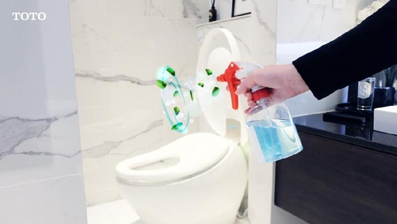 ใช้ดับกลิ่นในห้องน้ำ