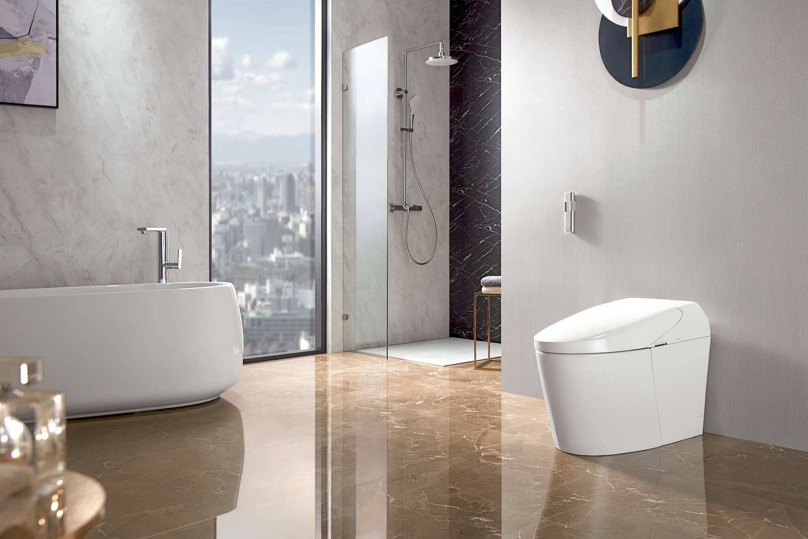 Red Dot Design Award 2021 WASHLET G5 Roomscene