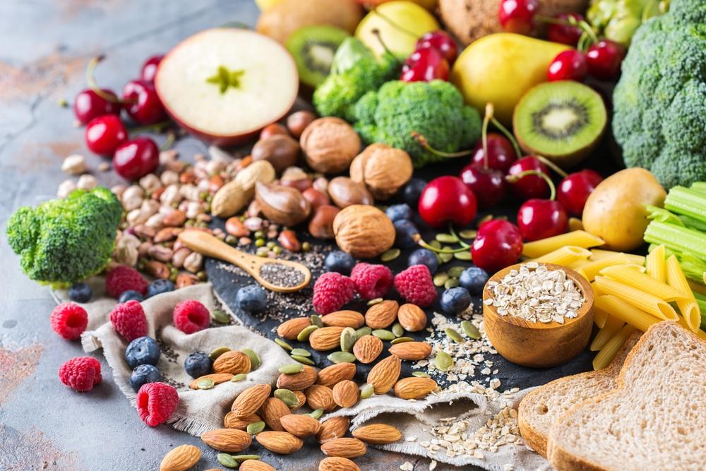 ภาพ: อาหารที่มีเส้นใยอาหารสูง