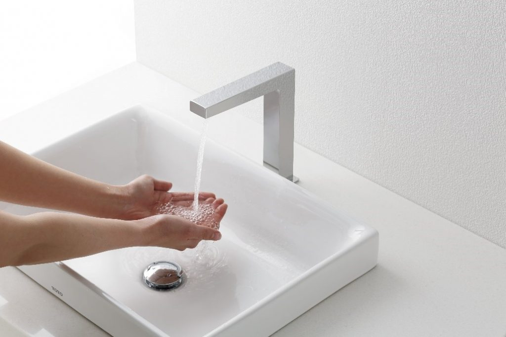 """""""TOTO TOUCHLESS FAUCET"""" คว้ารางวัล 2021 Green Good Design Award 11"""