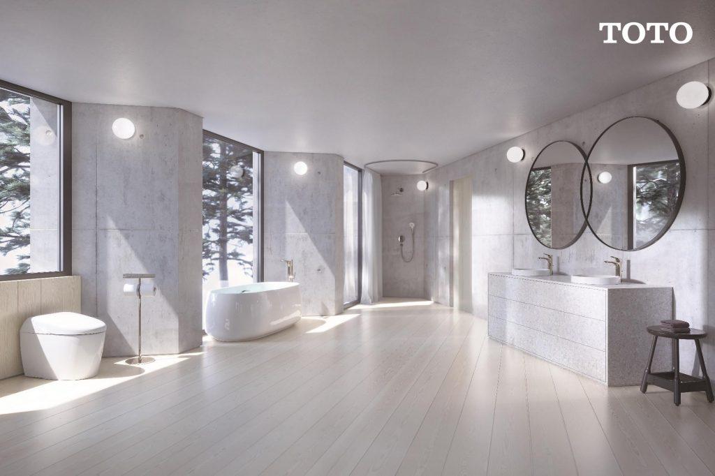 ภาพ: ห้องน้ำโทนมินิมอล