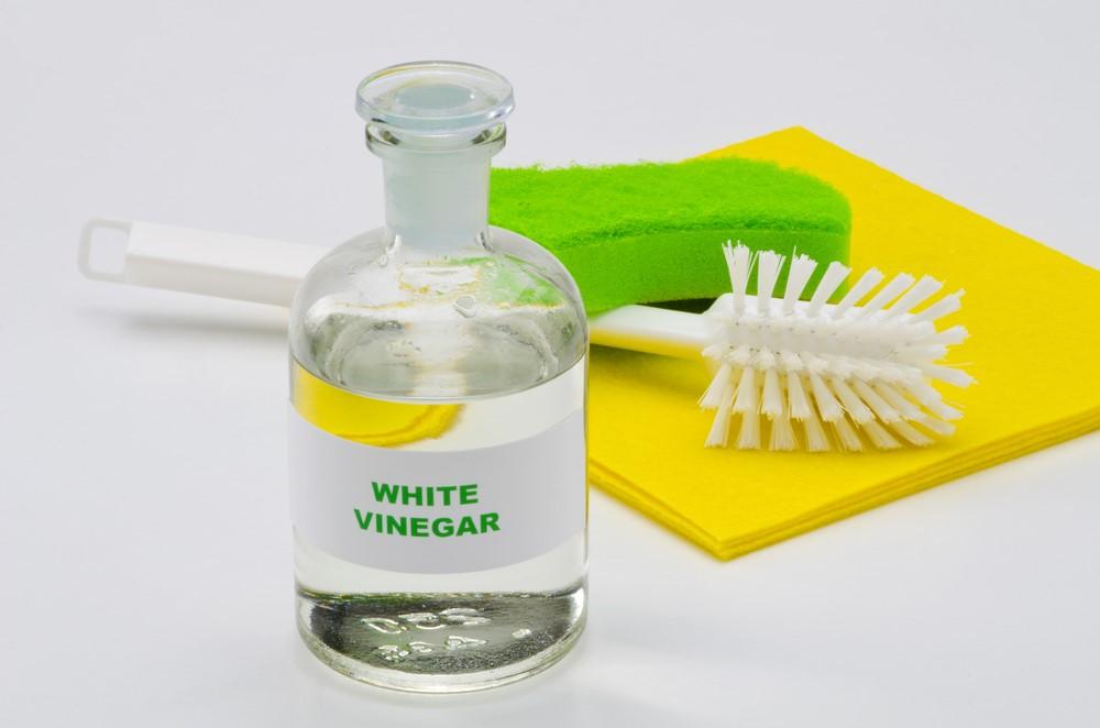 ภาพ: ทำความสะอาดอ่างล้างหน้าด้วยน้ำส้มสายชู