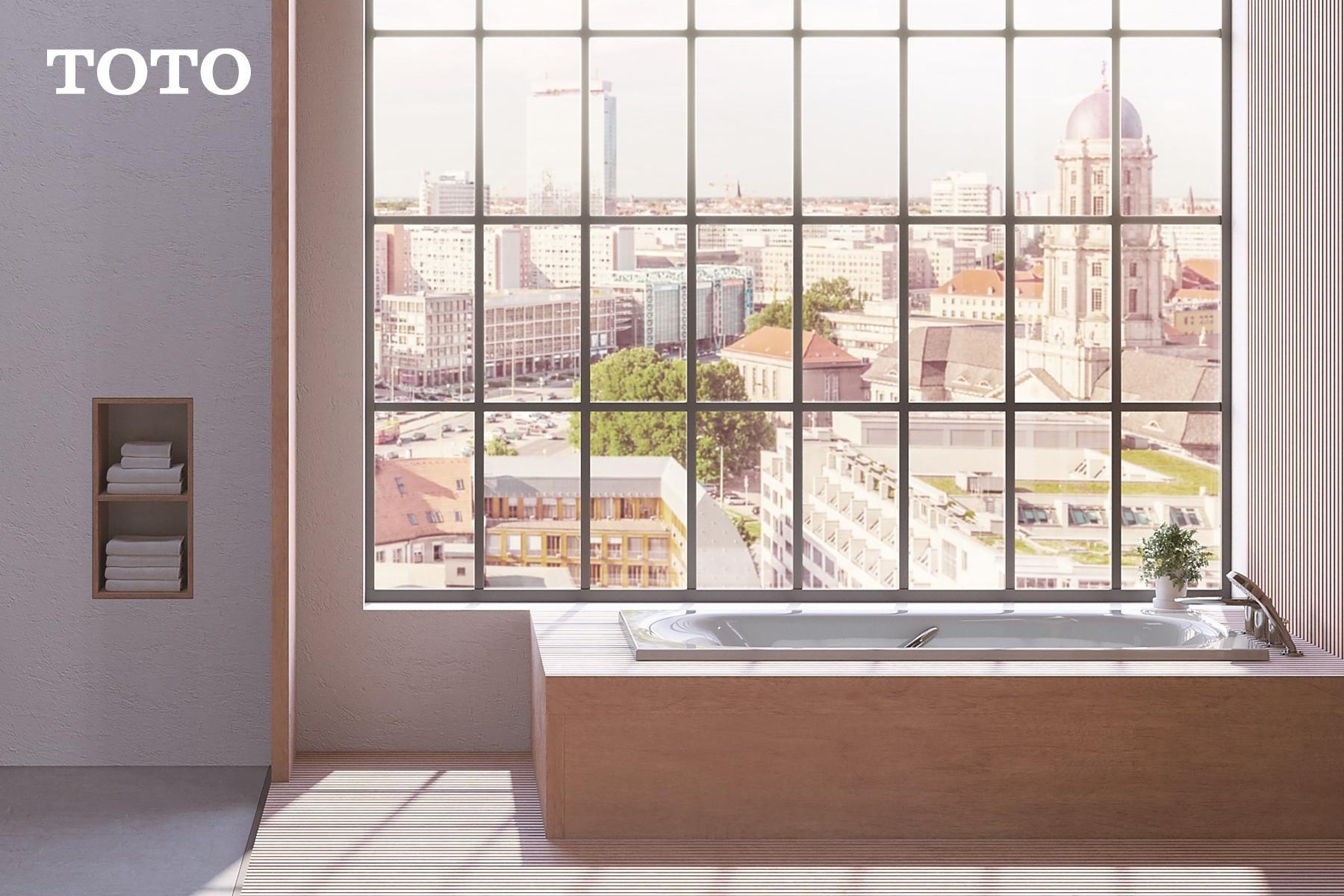 ภาพ: อ่างอาบน้ำแบบฝังเคาน์เตอร์